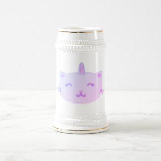 Kitticornのマグ(薄紫) ビールジョッキ