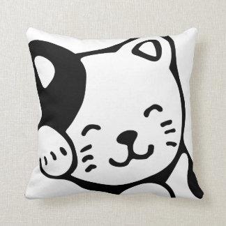 Kitty Throw Pillow クッション