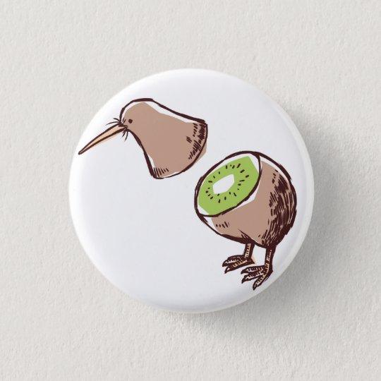 Kiwi bird 缶バッジ