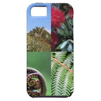 Kiwianaニュージーランドの先住民の植物相 iPhone SE/5/5s ケース