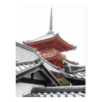 Kiyomizu-dera京都 ポストカード