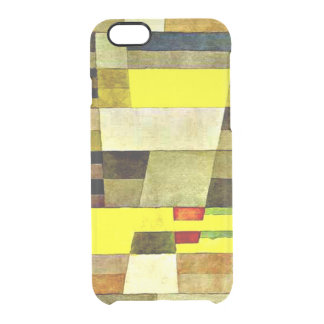 Kleeの芸術、記念碑 クリアiPhone 6/6Sケース