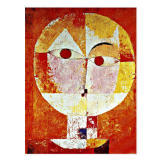Kleeの芸術- Senecio ポストカード