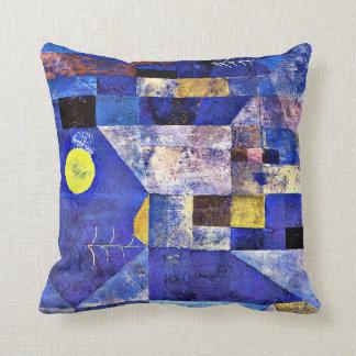 Klee-の月光、パウル・クレーの絵画 クッション