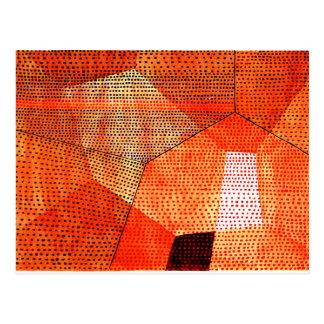 Klee -モデル106の色のポリフォニー ポストカード
