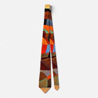 Klee -寺院の庭 ネクタイ