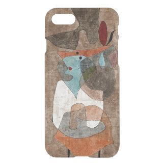 Klee -帽子、女性および少しテーブル iPhone 8/7 ケース