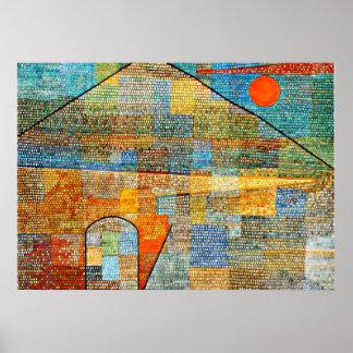 Klee -広告Parnassus ポスター