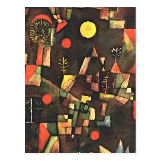 Klee -満月 ポストカード