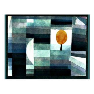 Klee: 秋のメッセンジャー ポストカード