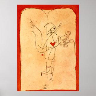 Klee -精神は小さい朝食を機能します ポスター