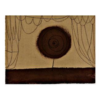 Klee -花は行います ポストカード