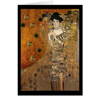 KlimtのアデールBloch-Bauerのポートレート カード