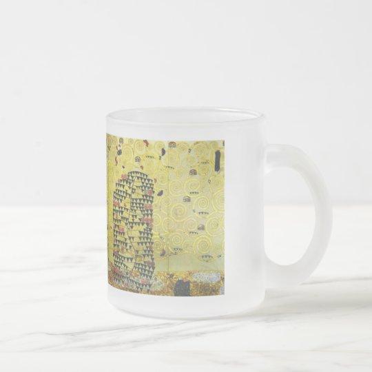 Klimt , Werkvorlage zum Stocletfries フロストグラスマグカップ