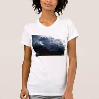 KLMによる明るい積雲のcongestusの嵐 Tシャツ