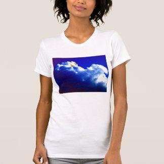 KLMによる明るく青い積雲のcongestus Tシャツ