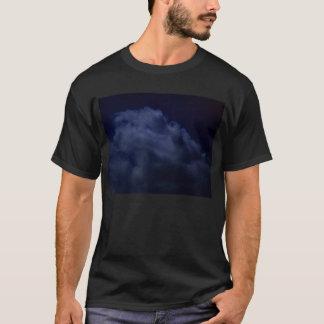 KLMによる濃紺のねじれる積雲のhumilis Tシャツ