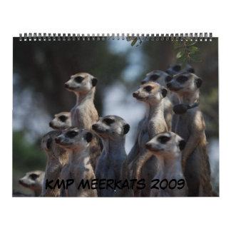 KMP Meerkats -カレンダー2009年 カレンダー