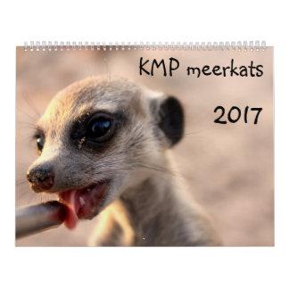 KMP Meerkats - 2017カレンダー カレンダー