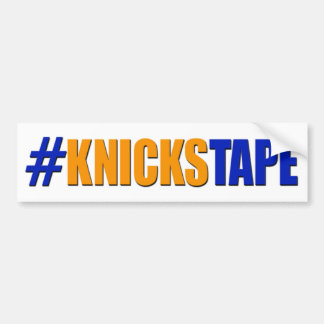 KnicksTapeのバンパーステッカー バンパーステッカー