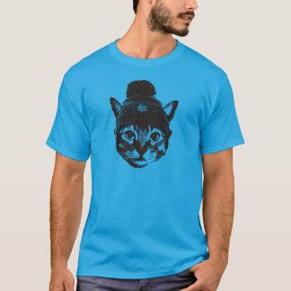 Knitcap cat tシャツ