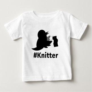 Knitter.com ベビーTシャツ