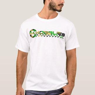 knobbliesのロゴの迷彩柄 tシャツ