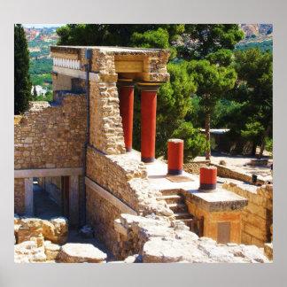 KnossosポスターのMinoan宮殿 ポスター
