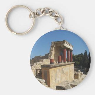 Knossos、クレタ、ギリシャのMinosの宮殿 キーホルダー