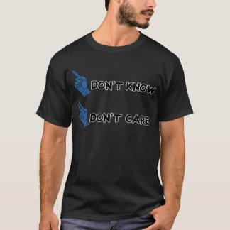 know気になりません! tシャツ