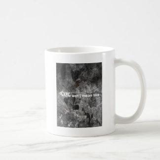 KNOWWHATiMEAN コーヒーマグカップ