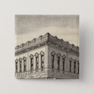 Knoxのブロック、サンノゼ 5.1cm 正方形バッジ