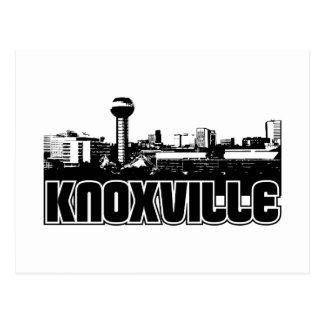 Knoxvilleのスカイライン ポストカード