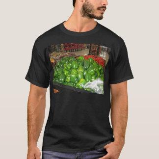 Knoxvilleの動物園032.JPGの緑コショウの装飾 Tシャツ