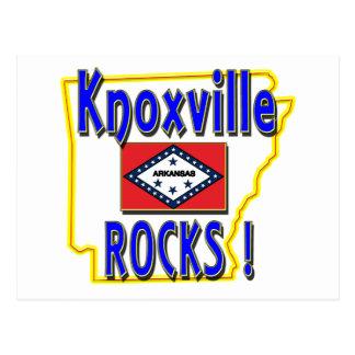 Knoxvilleの石! (青) ポストカード