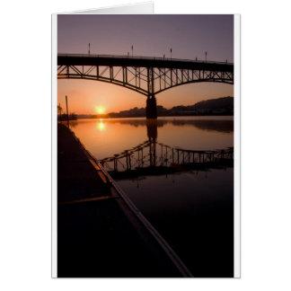 KnoxvilleのTNの日の出 カード