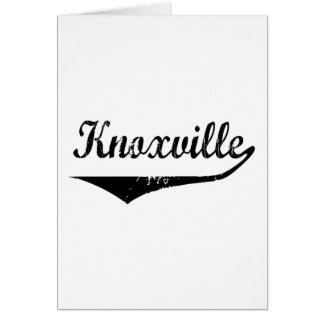 Knoxville カード