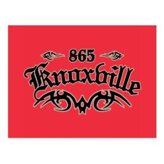 Knoxville 865 ポストカード