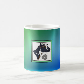 KNSの農場のロゴのマグ: Minx コーヒーマグカップ
