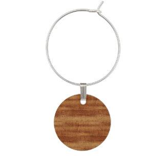 Koaの巻き毛のアカシアの木製の穀物の一見 ワインチャーム