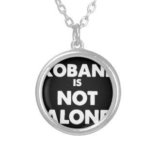 Kobaniはだけではないです シルバープレートネックレス