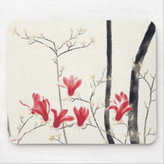 Kobayashi Kokeiのヴィンテージの自然著マグノリアの木 マウスパッド
