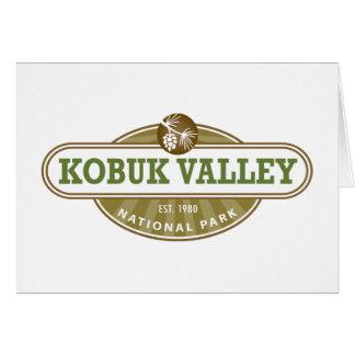 Kobukの谷の国立公園 カード