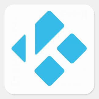 Kodiのステッカーによって動力を与えられる スクエアシール