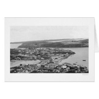 Kodiakのアラスカの空中写真1920年 カード