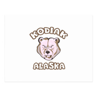 KODIAKアラスカ ポストカード