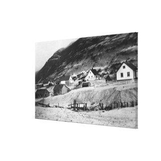 Kodiak、アラスカの写真の早い場面 キャンバスプリント