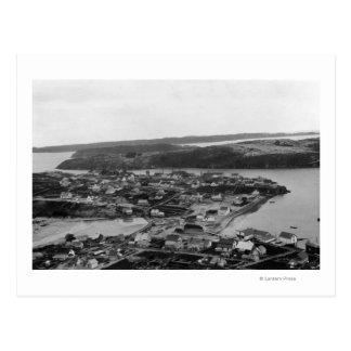 Kodiak、アラスカの写真の空中写真 ポストカード
