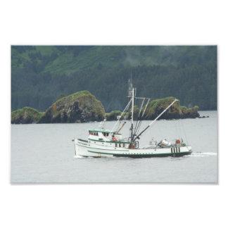 Kodiak、AKの漁船 フォトプリント