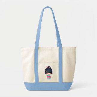 Kokeshiのさくらんぼのトート トートバッグ